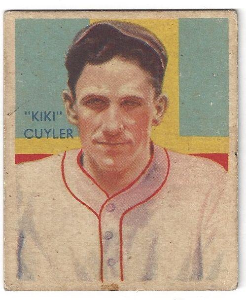 Lot Detail 1935 Hazen Kiki Cuyler Hof Diamond Stars Baseball Card