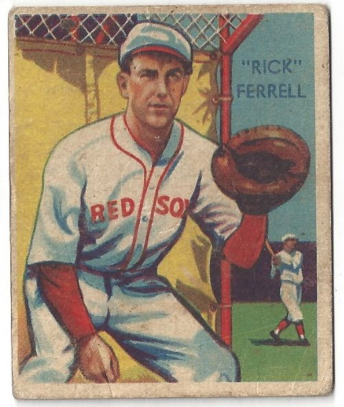 Lot Detail 1935 Rick Ferrell Hof Diamond Stars Baseball Card