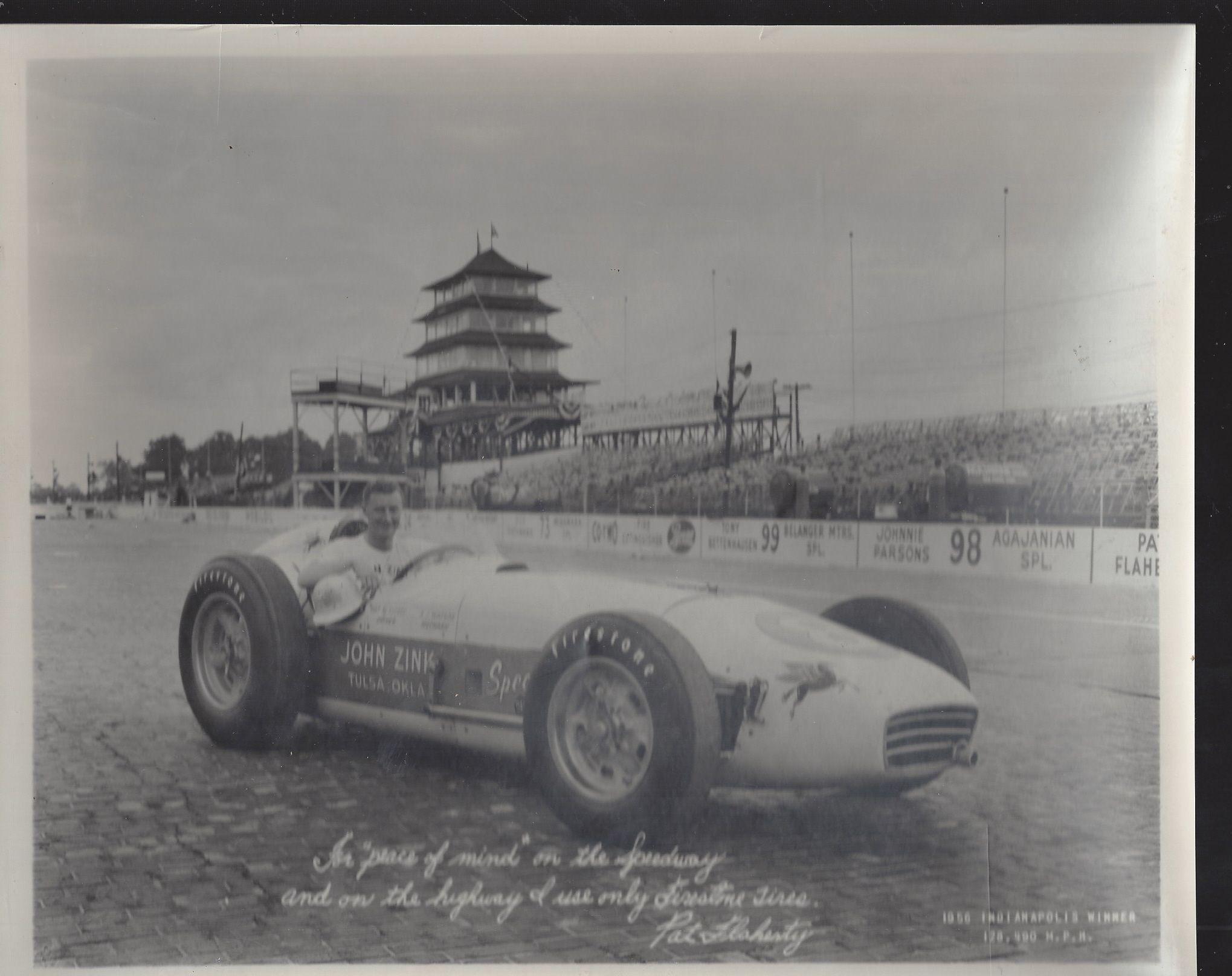 1956 Indianapolis 500 Winner